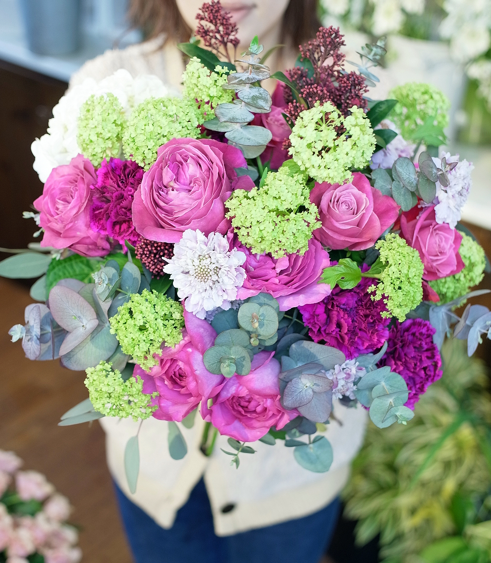 Paris style bouquet