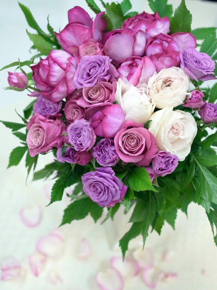 母の日に贈る花束