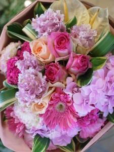 ブーケスタイル花束