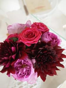 泉ビッレッチ ウエディング 装花
