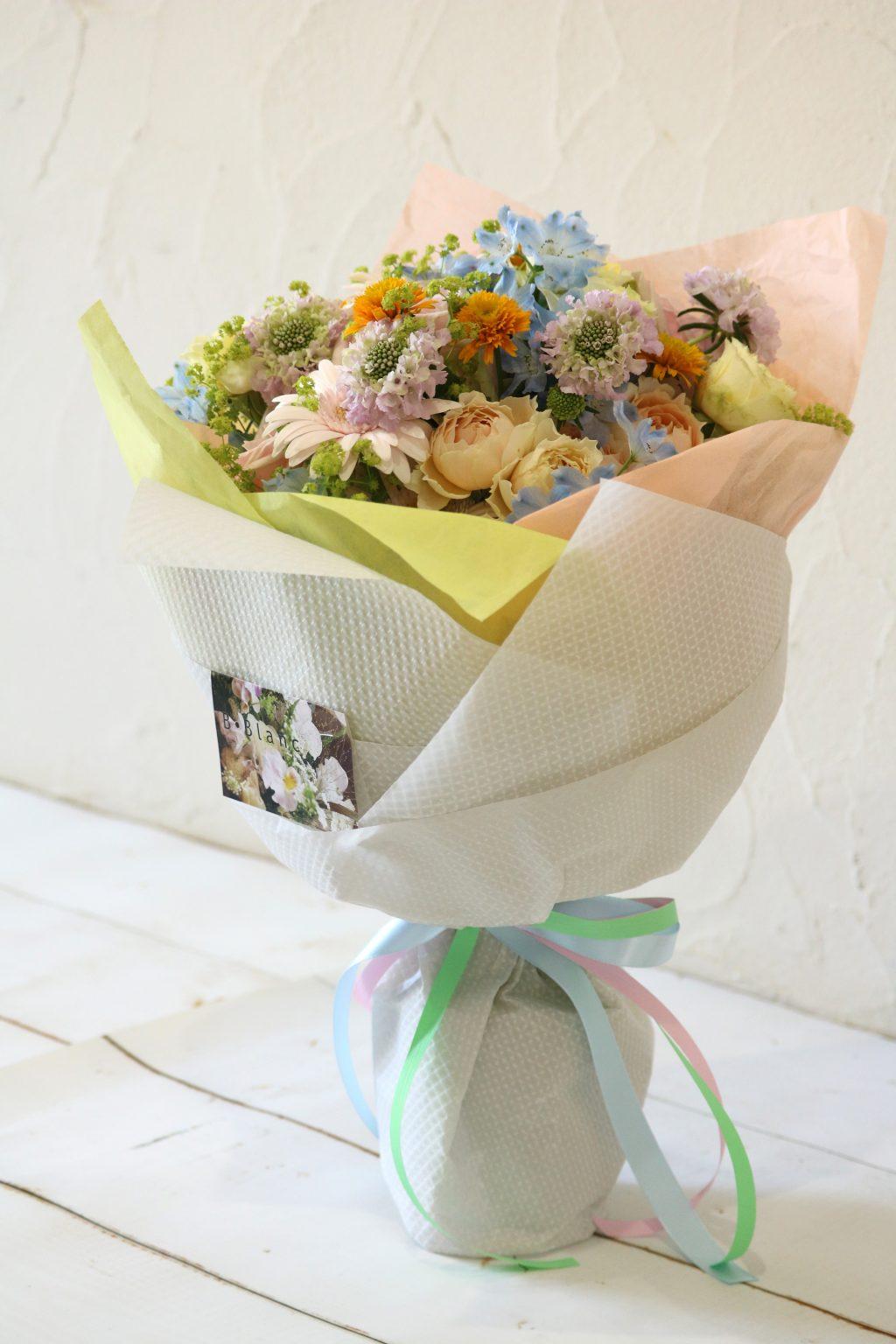 花束 ブーケスタイル (ロマンティック)