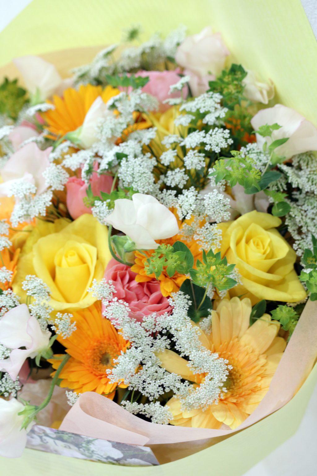 花束 ブーケスタイル (スプリングブライト)